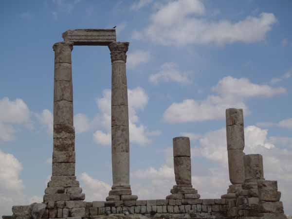 Roman Temple Columns
