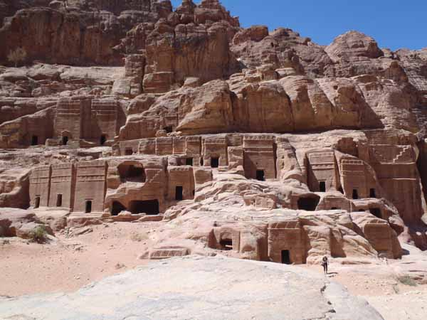 Many Petra Tombs