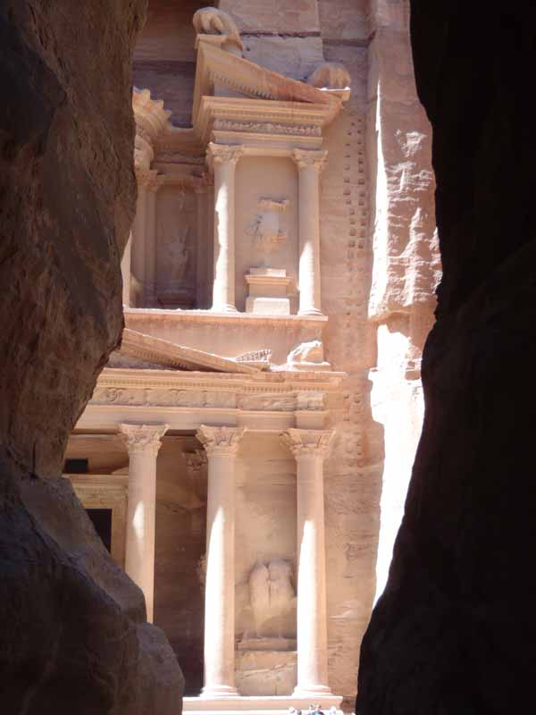 View of Petra Treasury