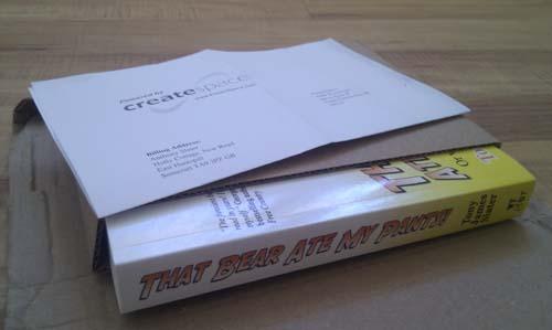 paperback copy in package