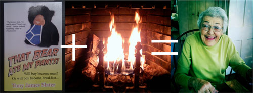 Burn my book - save pensioners!