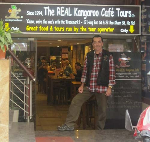 Max Hart of Kangaroo Cafe