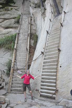 Hua Shan crazy steps