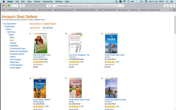 Bestseller Screen Shot