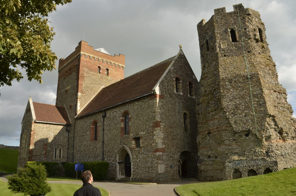 The Saxon Church and Roman Lighthouse